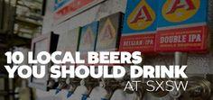 10 Local Beers you should drink/SXSW-Local-Beer