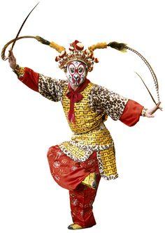 peking opera costume - monkey from Journey to the West