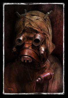 Star Wars - Sand People by Tariq Raheem *
