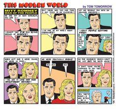Mitt Romney - Man of the People