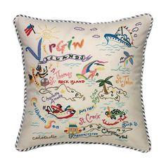 Virgin Islands Pillow