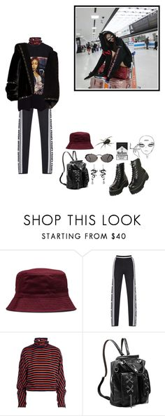 """Untitled #157"" by liliakorobkina ❤ liked on Polyvore featuring Dr. Martens, McQ by Alexander McQueen and Jean-Paul Gaultier"