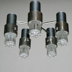Raak Ludiek ceiling lamp 1960 | raak verlichting | Pinterest ...