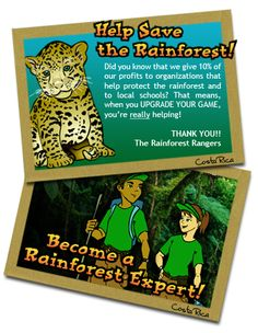 The Rainforest Rangers - The Best Online Educational Game for Kids!
