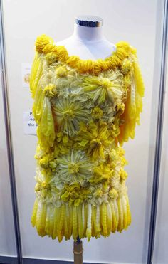Attendees walking through the 20th International AIDS Conference in Melbourne have been marveling at this beautiful dress.