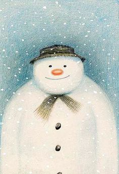 the snowman ~ raymond briggs ~ a fav of mine and my kids to this day, especially the video :)