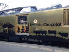 The Swiss Chocolate Train is a great way to explore the beautiful scenery of Switzerland and enjoy some delicious chocolate and Gruyere cheese