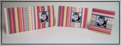 Handmade Pinched Window Cards in 3 different sizes