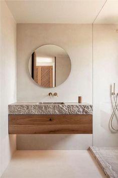 Bathroom Interior Design, Interior Modern, Interior Ideas, Interior Livingroom, Interior Lighting, Interior Inspiration, Porch Interior, Stone Interior, Bohemian Interior