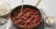 Cool down the heat of this spicy, beef chilli con carne with a dollop of sour cream.