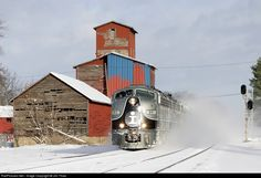 RailPictures.Net Photo: IC 101 Illinois Central Railroad EMD E9(A) at Bellevue, Michigan by Jim Thias