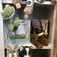 Little Froggy Book & Soft Toy Set