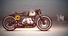 Racing Cafè: Cafè Racer Concepts - BMW R75/6 1974 #2 by Holographic Hammer