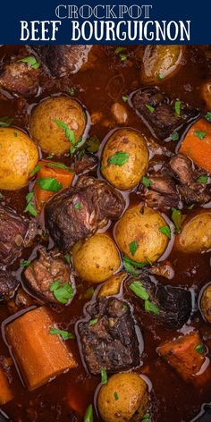 Crockpot Beef Bourguignon, Slow Cooker Roast Beef, Beef Stroganoff, Family Fresh Meals, Easy Family Meals, Family Recipes, Crockpot Recipes, Cooking Recipes, Easy Recipes