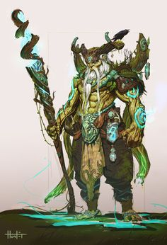 Nature Gaurdian sketches , Hunter Schulz on ArtStation Fantasy Character Design, Character Creation, Character Design Inspiration, Character Concept, Character Art, Concept Art, Dungeons And Dragons Characters, Dnd Characters, Fantasy Characters