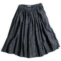 45R Online Storeガーゼツィードスカート: Lady's Skirt