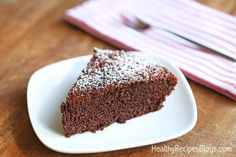 This fluffy, gluten-free almond flour chocolate cake is naturally sweetened with a touch of honey. It's moist, delicious, and healthy!