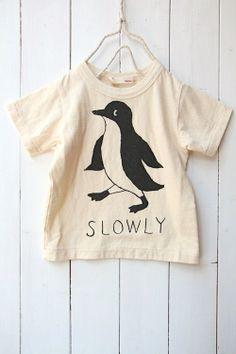 ペンギンTシャツ/オフ(02) - 100% picnic.