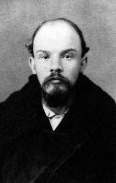 Police photograph of Vladimir Lenin from December 1895