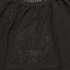 Black see through blouse Cute pattern, see through so a colored tank looks cute peeking out. BCBG brand BCBGMaxAzria Tops Blouses