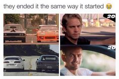 Paul Walker/ Brian O'Connor  Vin Diesel/ Dominic Toretto