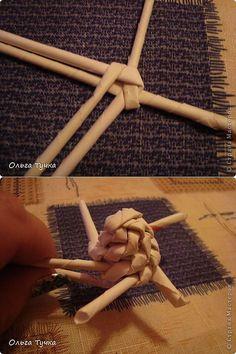 плетение винтом на конус | Страна Мастеров | Плетение из газет | Постила