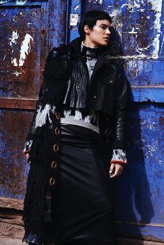 visual optimism; fashion editorials, shows, campaigns & more!: alana bunte by alexander neumann for vogue mexico december 2014