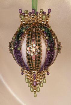 "Gift Boxed Heirloom Ornaments - Ornamentia Line - ""Avril Marvena"" - Orna Mentz"