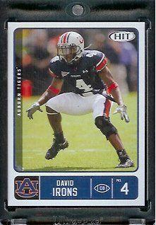 2007 SAGE HIT David Irons #54 Auburn Tigers - RC - Rookie Football Card by Sage. $1.87. 2007 SAGE HIT David Irons #54 Auburn Tigers - RC - Rookie Football Card