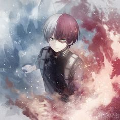 Shouto - ice and fire