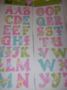 Main Street Wall Creations Jumbo Stickers - A B C's Princess Pink by Main Street. $2.90. Jumbo Stickers. Removable - Won't harm walls. Acid Free. Self-adhesive - no water, no paste. Pre-cut - Just Peel and Stick. Main Street Wall Creations Jumbo Stickers - A B C's Princess Theme