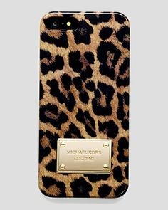 MICHAEL Michael Kors iPhone 5 Case - Leopard Print | Bloomingdale's