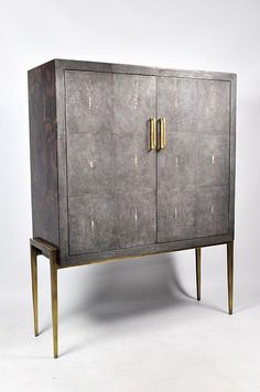 Ginger Brown France,galuchat,shagreen furniture | Cabinets
