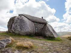 "Picture of a large stone house in Portugal Photograph by Daria Chuvaeva, National Geographic Your Shot While on a trip to Portugal, Your Shot member Daria Chuvaeva ""heard from a local barman [about] an unusual stone house located in the Fafe Mountains,"" she says. Chuvaeva decided to journey to the offbeat dwelling, known as the Casa do Penedo, and this image is the result of her effort."