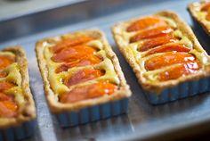 Apricot-Mandel-Törtchen