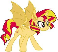 Sunset Shimmer vampire-bat pony by Elsia-pony on DeviantArt Mi Little Pony, My Little Pony Applejack, My Little Pony Cartoon, My Little Pony Pictures, My Little Pony Friendship, Minion Baby, Evil Art, Princess Twilight Sparkle, Mickey Mouse Cartoon