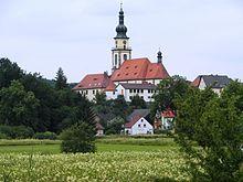 Katholische Pfarrkirche St. Michael (1905) in Stadtsteinach.