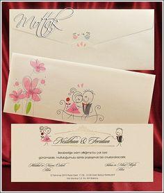 Svatební oznámení 2644 Watercolor Wedding Invitations, Invitations