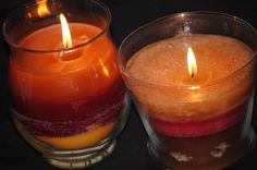 Candle recycling tips.