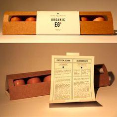 Eggs Packaging via Sofia Peres