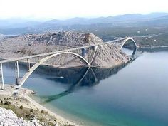 Brücke Insel Krk