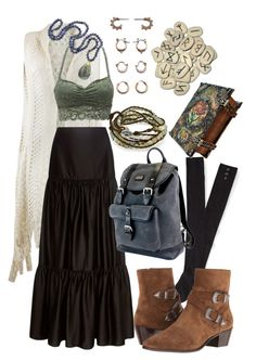 Designer Clothes, Shoes & Bags for Women Hippie Outfits, Grunge Outfits, Mode Outfits, Vintage Outfits, Retro Outfits, Edgy Outfits, Fashion Outfits, Fashion Tips, Aesthetic Fashion