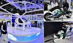 Dubai as a tech pioneer, from flying taxis to robocops   Daily Mail Online
