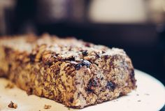 low carb-ish bread. lots of seeds and nuts, only some oats, no flour. // anna frost blog