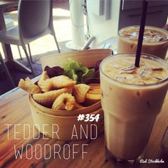 Tedder and Woodroff. Summer scorcher of a Saturday means ice cold coffee! A quick bite to eat and an ice coffee or two was on order at Tedder & Woodroff in Main Beach. Pretzel Bites, Iced Coffee, Gold Coast, Eat, Desserts, Food, Cafes, Postres, Dessert