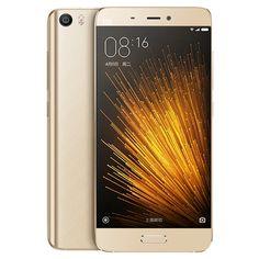 Original Xiaomi MI5 5.15 inch Snapdragon 820 Quad Core 1.8GHz MIUI 7.0 RAM 3GB ROM 32GB/ 64GB 4G Phone Call Tablet PC
