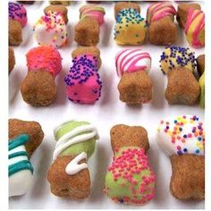 Pretty Dog Treat Recipes  #homemade #DIY #dogs #treats
