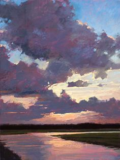 Painting Brilliant Skies & Water in Pastel: Secrets to Bringing Light and Life to Your Landscapes: Liz Haywood-Sullivan: : Books Pastel Landscape, Landscape Art, Landscape Paintings, Watercolor Landscape, Pastel Artwork, Pastel Paintings, Horse Paintings, Indian Paintings, Abstract Paintings