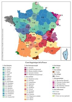 A map of dialects and regional languages of France. A map of dialects and regional languages of France. United Nations Peacekeeping, Semitic Languages, Italy Map, European Languages, Indian Language, Important Facts, Flags Of The World, Cartography, High Quality Images