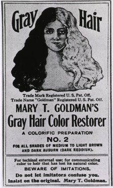 Images from the History of Medicine (NLM): Mary T. Goldman's Gray Hair Color Restorer - 1924